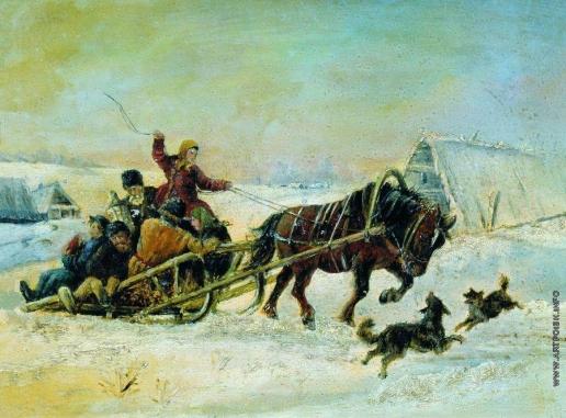 Сверчков Н. Е. На Масленице