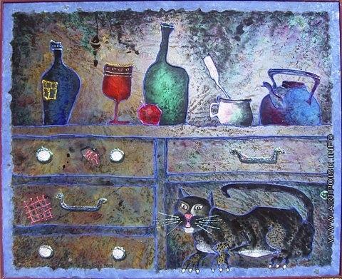 Абезгауз Е. З. Ящики с котом