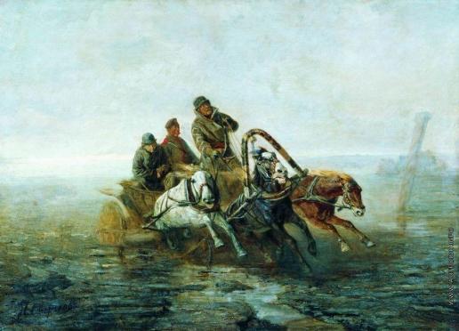 Сверчков Н. Е. По Великому Сибирскому пути (В ссылку)