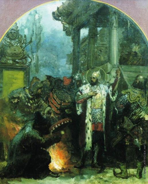 Семирадский Г. И. Александр Невский в Орде