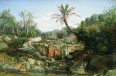 Семирадский Г. И. Восточный пейзаж
