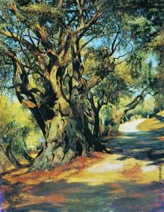 Семирадский Г. И. Дорога из Рима в Альбано