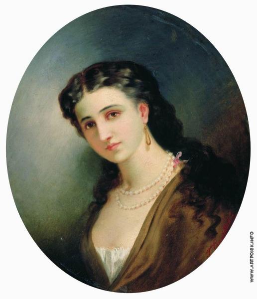 Семирадский Г. И. Женский портрет