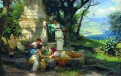 Семирадский Г. И. Игра в кости