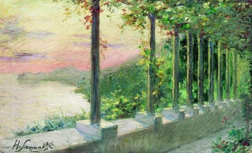 Семирадский Г. И. Итальянский пейзаж