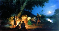Семирадский Г. И. Ночь накануне Ивана Купалы