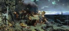 Семирадский Г. И. Оргия времен Тиберия на острове Капри