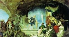 Семирадский Г. И. Орфей в подземном царстве