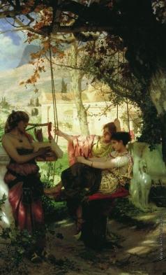 Семирадский Г. И. Песня рабыни