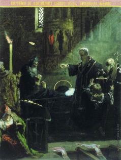 Семирадский Г. И. Погребение Александра Невского