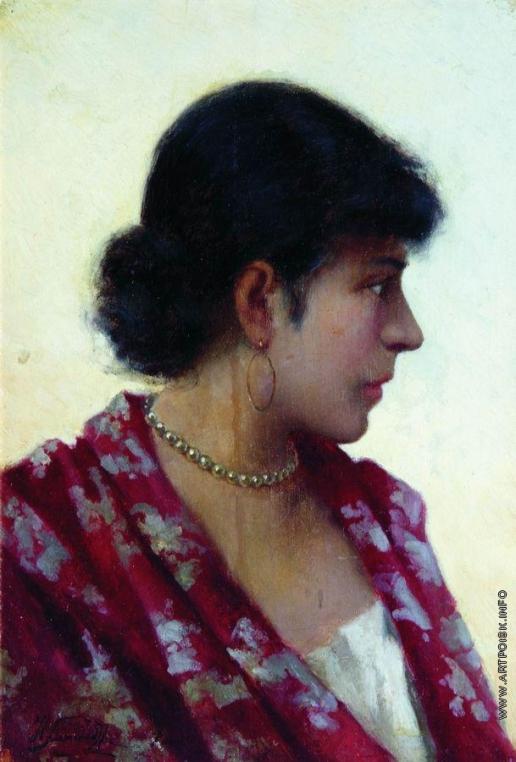 Семирадский Г. И. Портрет неизвестной