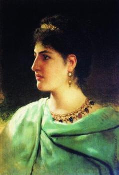 Семирадский Г. И. Портрет римлянки
