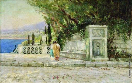 Семирадский Г. И. Римский пейзаж