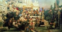 Семирадский Г. И. Светочи христианства (Факелы Нерона). 1876-
