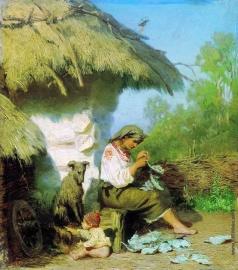 Семирадский Г. И. Сельская идиллия