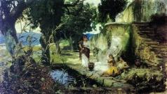 Семирадский Г. И. Сцена у колодца