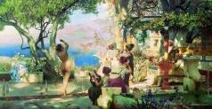Семирадский Г. И. Танец среди мечей