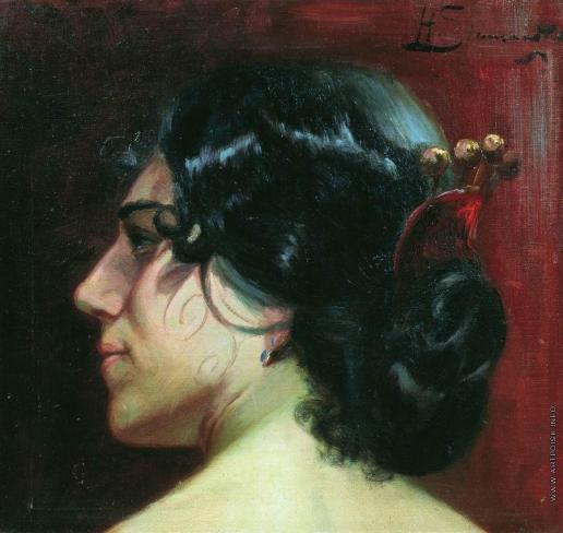 Семирадский Г. И. Тени волос