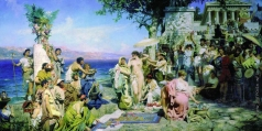 Семирадский Г. И. Фрина на празднике Посейдона в Элевзине