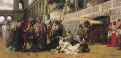 Семирадский Г. И. Христианская Дирцея в цирке Нерона