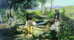 Семирадский Г. И. Христос и самаритянка