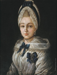 Сердюков Г. Портрет неизвестной в белом чепце