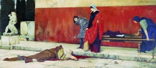 Смирнов В. С. Смерть Нерона