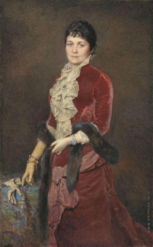 Соколов А. П. Женский портрет