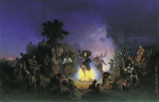 Соколов И. И. Ночь на Ивана-Купалу