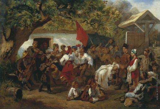 Соколов И. И. Свадьба