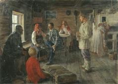 Соколов М. Г. На родине
