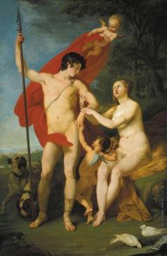 Соколов П. И. Венера и Адонис