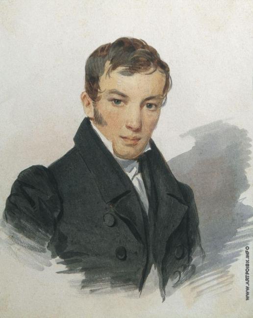 Соколов П. Ф. Портрет В.А. Жуковского