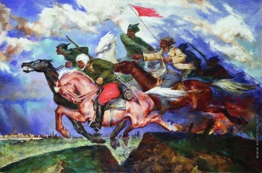 Соколов-Скаля П. П. Даешь Варшаву!