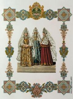 Солнцев Ф. Г. Летний женский костюм города Торжка