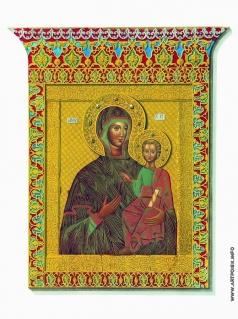 Солнцев Ф. Г. Святая икона Одигитрии Смоленской Богоматери