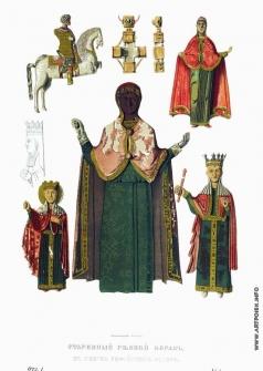 Солнцев Ф. Г. Старинный резной образ в новгородском Софийском соборе