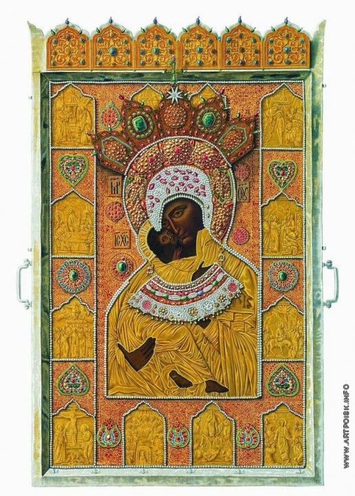 Солнцев Ф. Г. Чудотворный образ Владимирской Божией Матери