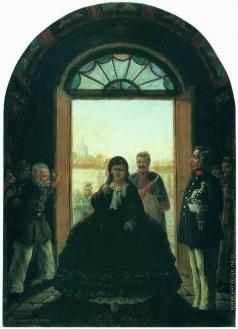Соломаткин Л. И. Губернаторша, входящая в церковь