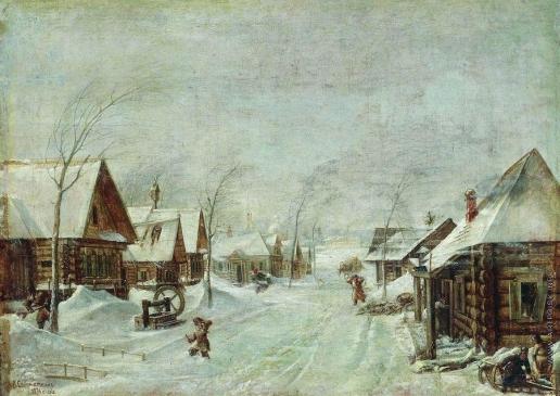 Соломаткин Л. И. Зима. Метель