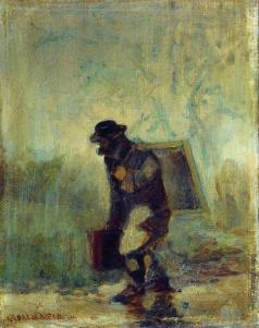 Соломаткин Л. И. Художник под дождем. 1870–