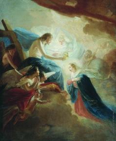 Сорокин Е. С. Венчание Пресвятой Богородицы