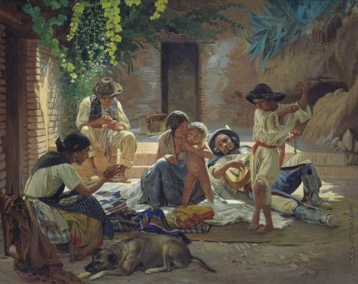 Сорокин Е. С. Испанские цыгане