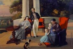 Сорокин Е. С. Семейный портрет