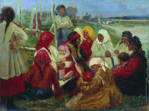 Степанов А. С. Беседа крестной матери