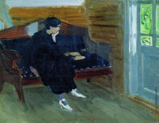 Степанов А. С. Женщина на диване