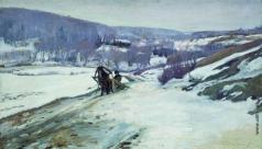 Степанов А. С. Зимний пейзаж