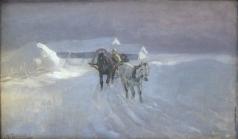 Степанов А. С. Зимой