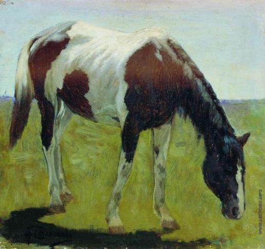 Степанов А. С. Лошадка. 1900-