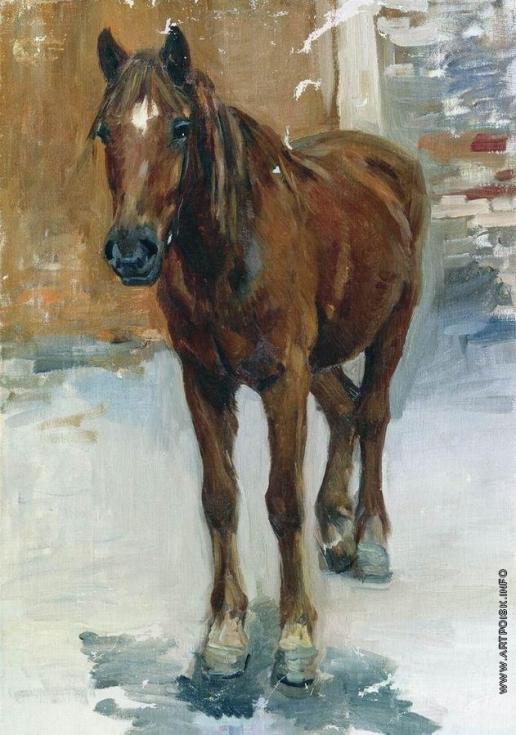 Степанов А. С. Лошадь. 1911-